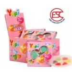 [FSC] Yupi Mini Sweet Heart Gummy Jelly 15gm x 12 pieces