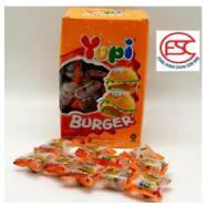 image of [FSC] Yupi Mini Burger Gummy Party Box 9gm x 72 pieces