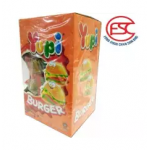 [FSC] Yupi Mini Burger Gummy Party Box 9gm x 72 pieces