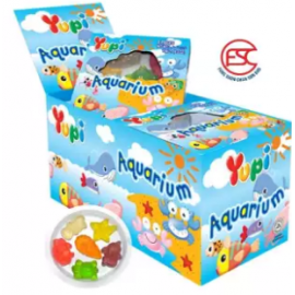 image of [FSC] Yupi Mini Aquarium Gummy Jelly 15gm x 12 pieces