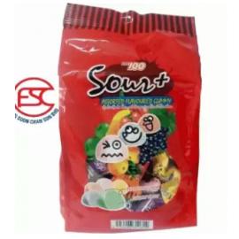 image of [FSC] Lot 100 Sour Gummy Assorted Flavour 600gm
