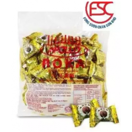 image of [FSC] Apollo Roka Peanut Chocolate Waffer Ball 80pieces