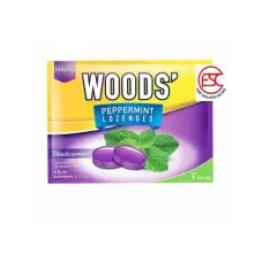 image of [FSC] Woods' Lozenges Candy Blackcurrant 15gm x 15pkt