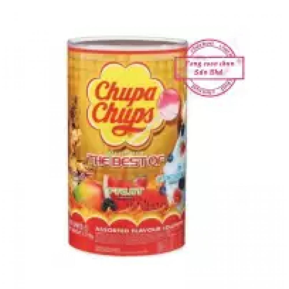 Chupa Chups lollipop 100pcs (mix fruit)