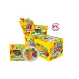 image of [FSC] Yupi Mini Cocktail Fruit Gummy Jelly 15gm x 12 pieces