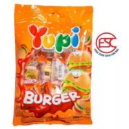 image of [FSC] Yupi Mini Burger Gummy 96gm