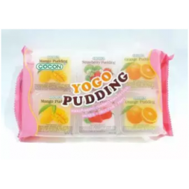 image of [FSC] Cocon Yogo Pudding With Nata De Coco 35gm x 6 pieces