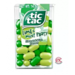 Tic tac Lime & Coolmint Flavour candy 12boxes x 14.5gm