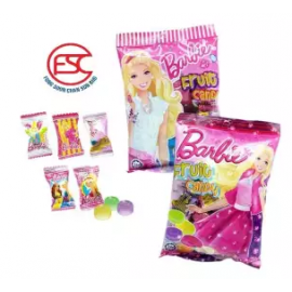 image of [Import] Barbie Assorted Fruits Candy 140gm