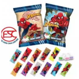 image of [Import ] Spiderman Chewy Candy 140gm