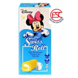 image of [FSC] Disney Swiss Roll Cake Milk Flavour 6pieces x 20gm