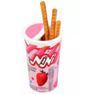image of [FSC] NiNi Strawberry Dip With Biscuits Stick 10cups