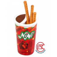image of [FSC] NiNi Chocolate With Dip Biscuits 10cups
