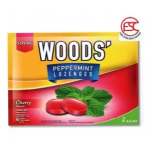 [FSC] Woods' Lozenges Candy Cherry 15gm x 15pkt