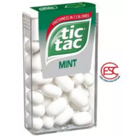image of Tic Tac Fresh Mint Flavours candy 12boxes x 14.5gm