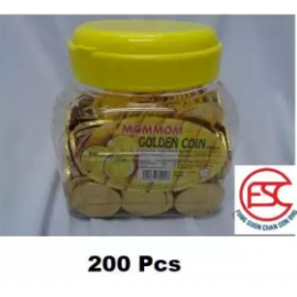 image of Momom Gold Coin Chocolate 200pcs