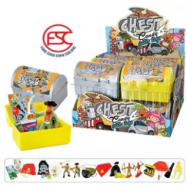 image of [FSC] [Import] Beardy Treasure Chest mystery gift with candy 12gm