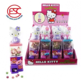 image of [Import] Hello Kitty Vending Machine Toy With Candy 12pcs
