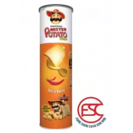 image of [FSC] Mr Potato Hot & Spicy Potato Crisp 150gm