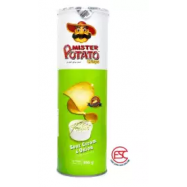 image of [FSC] Mr Potato Sour Cream Onion Potato Crisp 150gm