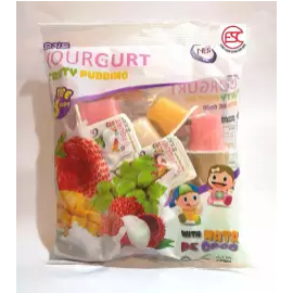 image of [FSC] NBI Yourgurt Mix Fruit Pudding With Nata De Coco 18pieces x 35gm