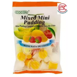 image of [FSC] Cocon Mini Pudding With Nata De Coco Assorted Fruit Flavour 25pieces x 15gm