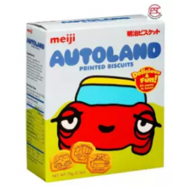 image of Meiji Auto-land biscuits 70gm