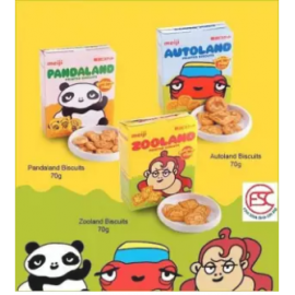 image of Meiji Panda-land Biscuit 70gm