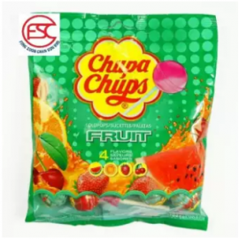 image of Chupa chups lollipop (Fruit Flavours) gift pack 10stick