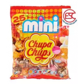 image of [FSC] Mini Chupa Chups Assorted Flavours 6gm x 25pieces