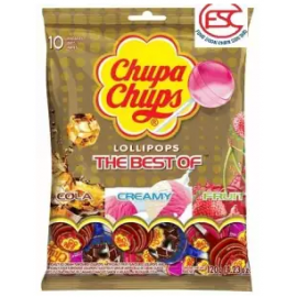 image of Chupa chups lollipop (The Best Of) gift pack 10stick