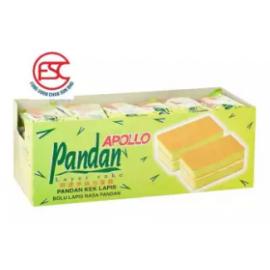 image of [FSC] Apollo Pandan Layer Cake 24pieces x 18gm