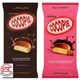 image of [2pack] Mum's Cocopie 25gm x 6 pieces (chocolate/strawberry)