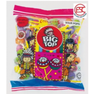 image of [FSC] Big Top Sour Mix Fruit Lollipop Candy 50pieces