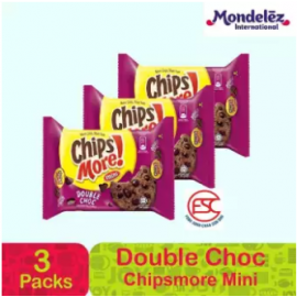 image of [FSC] Chipsmore Mini Double Chocolate 3pck x 88gm