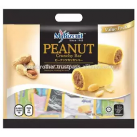 image of Mybizcuit Peanut Crunchy Bar Value Pack 300gm