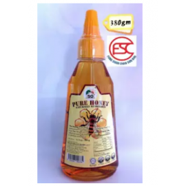 image of [FSC] Pure Honey (Naturally Nutritious) With Squeeze Botol 380gm
