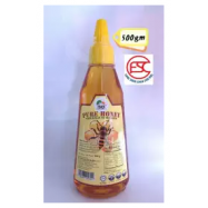 image of [FSC] Pure Honey (Naturally Nutritious) 500gm Squeeze Botol