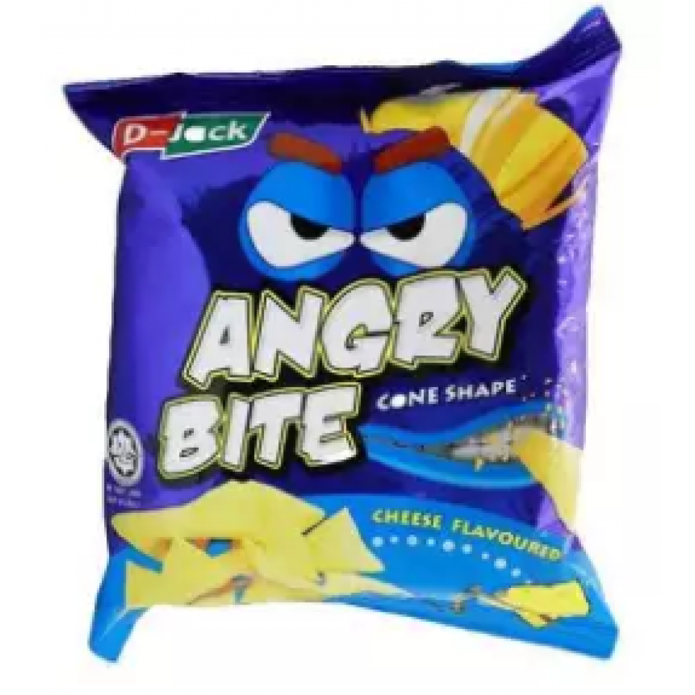 [FSC] Djack Angry Bite Cheese Flavour 40piece x 10gm
