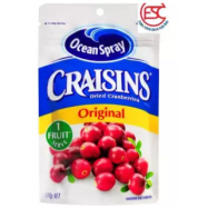 image of [FSC] Ocean Spray Craisins Original Dried Cranberries 142gm