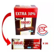 image of [FSC] Richoco Nabati Choco Wafer(Extra 30%) 20pieces x 18gm