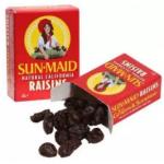 [FSC] Sunmaid California Raisins 14mini Boxes 198gm