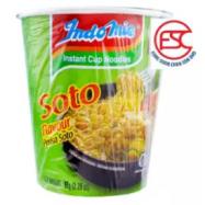 image of [FSC] Indomie Mi Soup Soto Cup Noodle 6cup x 65gm