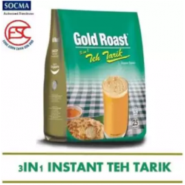 image of [FSC] Gold Roast 3in1 Teh-Tarik 25sticks x 20gm