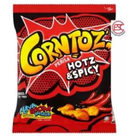 image of [FSC] Corntoz Hot & Spicy Corn Snack 10pieces x 50gm