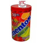 [FSC] Mini Mentos Fruit Mix 50roll x 10gm