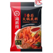 image of [FSC] Haidilao Steamboat Tomato Flavour Soup Base 海底捞番茄火锅底料 200gm