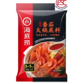 image of [FSC] Haidilao Steamboat Tomato Flavour Soup Base 海底捞番茄火锅底料 200gm