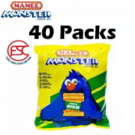 image of [FSC] Mamee Monster Chicken Flavours 40piece x 25gm