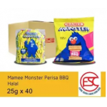 [FSC] Mamee Monsters BBQ Flavours 40piece x 25gm